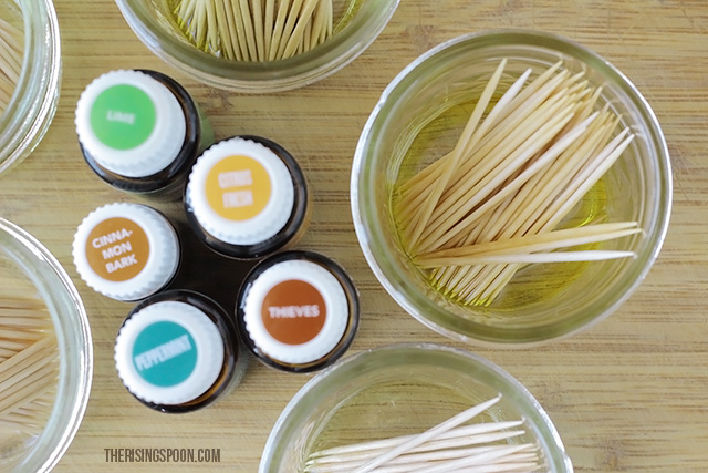 How to Make Flavored Toothpicks