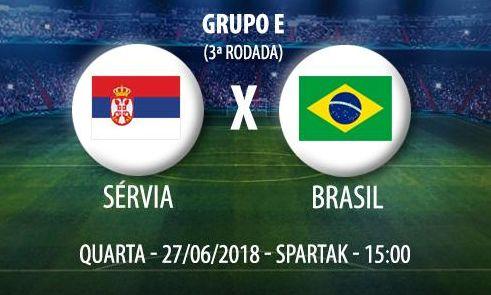 Assistir Jogo do Brasil X Sérvia Ao Vivo Copa da Rússia