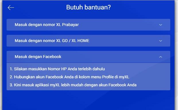 Menggunakan Website Resmi XL Untuk Cek Kuota XL