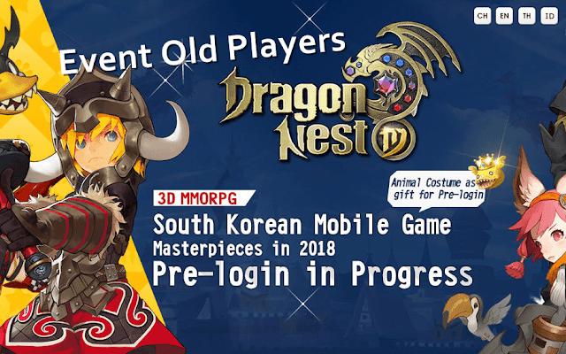 Cara Mendapatkan Event Old Players Dragon Nest M Welfare