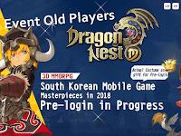 Cara Mendapatkan Event Old Players Dragon Nest M Welfare