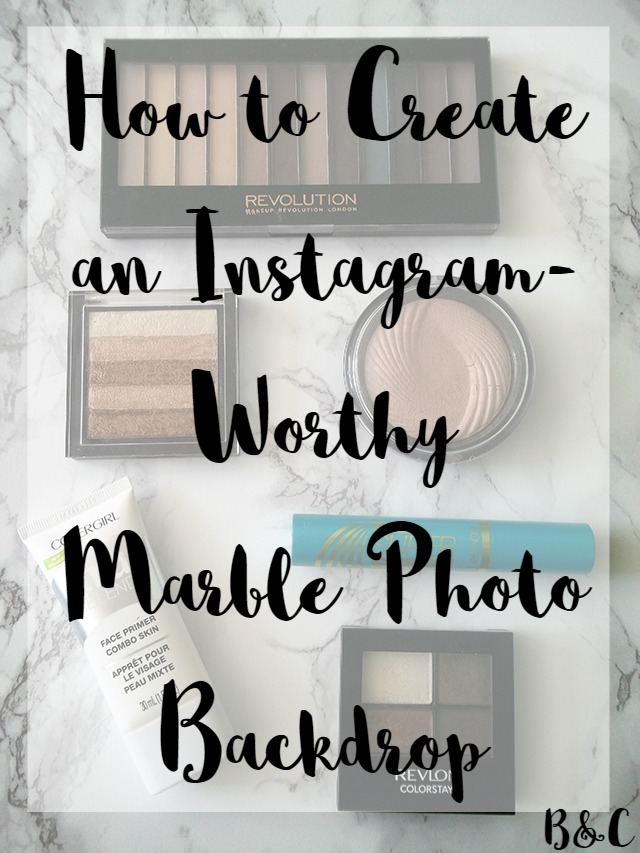How to Create an Instagram-Worthy Marble Photo Backdrop in 5 Easy Steps contact paper photography
