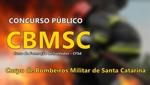 Apostila Corpo de Bombeiros Militar SC 2017 - Concurso CBMSC CFSd