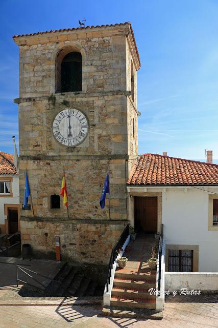 Torre del reloj de Lastres