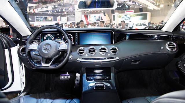 Nội thất Mercedes S500 4MATIC Coupe được làm từ những chất liệu tốt nhất