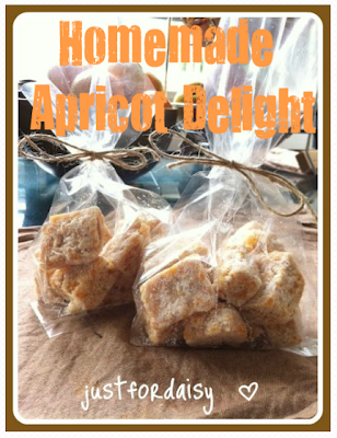 Just For Daisy :: Homemade Apricot Delight