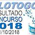 Resultado da Lotogol concurso 1018 (01/10/2018) ACUMULOU!!!