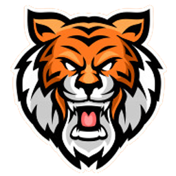 logo kepala harimau keren