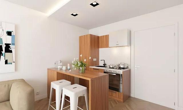 konsep dapur minimalis type 36 fotogenik