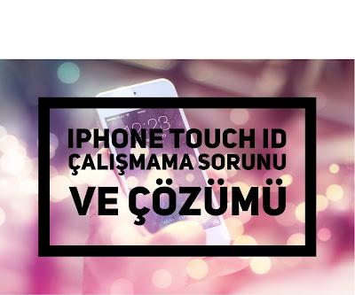 iphone parmak izi sorunu