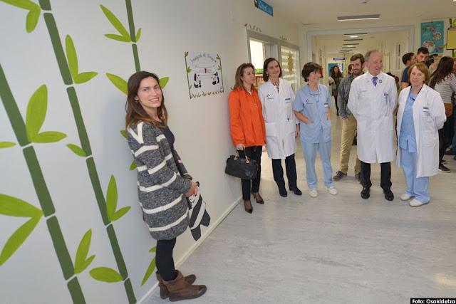 Redecorada planta de pediatría del hospital de Cruces