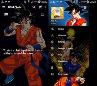 BBM Mod Tema Dragon Ball Ver 2.11.0.18 .APK
