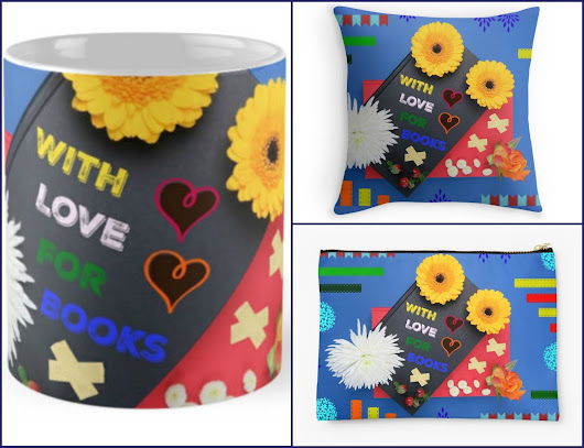 With Love for Books Pillow, Mug & Large Pouch Giveaway