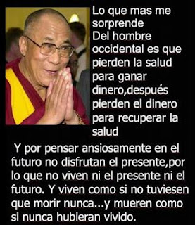 Sabia reflexión de Dalái Lama