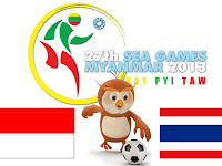 Indonesia U23 vs Thailand U23 SEA Games 2013