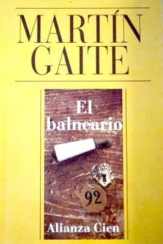 Lecturápolis El Balneario De Carmen Martín Gaite