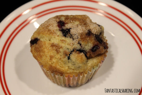 Double Blueberry Muffins #recipe #muffins #breakfast #blueberry