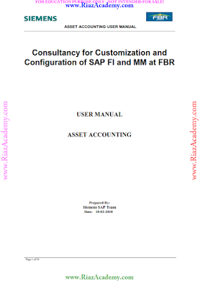 SAP FI and MM - Asset-Accounting Guide for End Users FREE DOWNLOAD