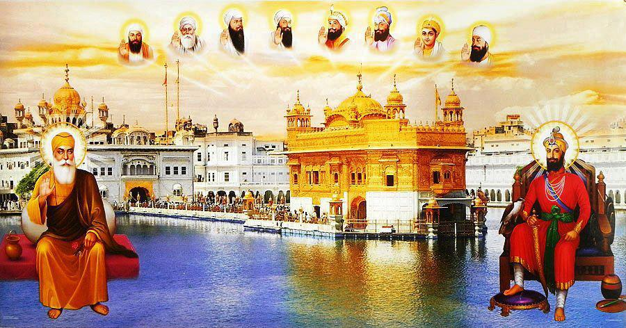 Baba Deep Singh Ji Wallpaper Hd Wallpaper On The Net Ten Gurus Of Sikh Sikh Gurus