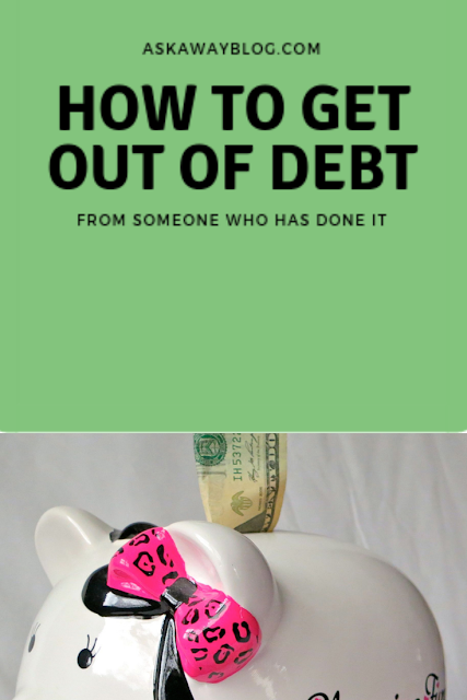 How to get out of debt from someone who has done it