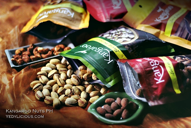 Kangaroo Nuts Healthy Snacks in Manila PH, Kangaroo Nuts Sun Lim Garden Foodstuffs PTE LTD Singapore, SLG Food Industries Malaysia, PT Surya Lestari Gemilang Indonesia, Kangaroo Nuts Blog Review Philippines, YedyLicious Manila Food Blog Yedy Calaguas
