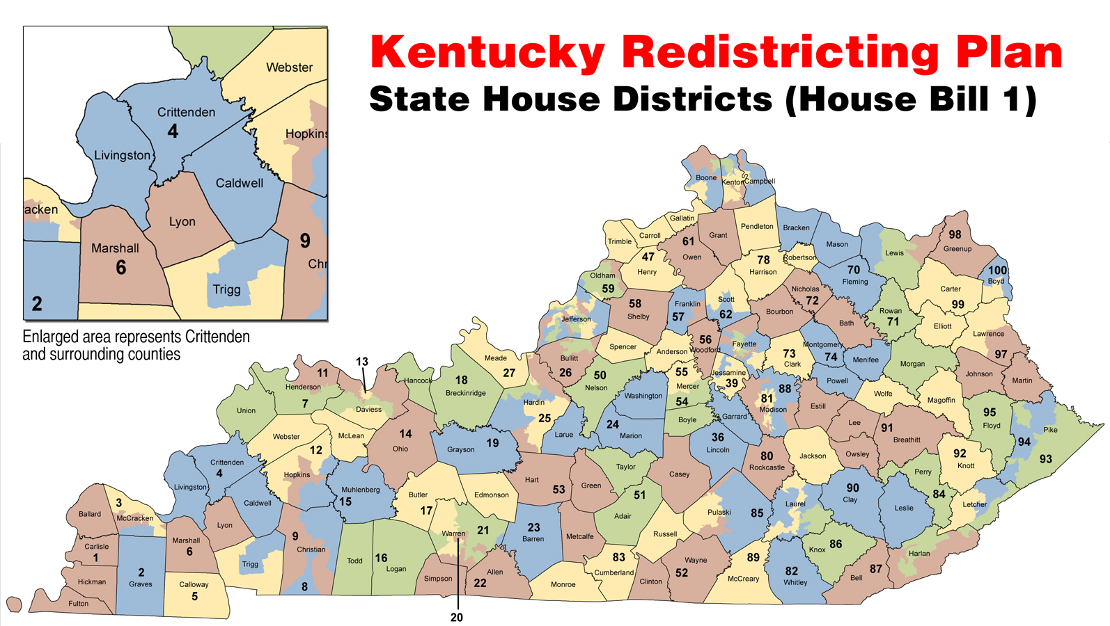 The Press Online Redistricting Plan Passes Keeping Crittenden In