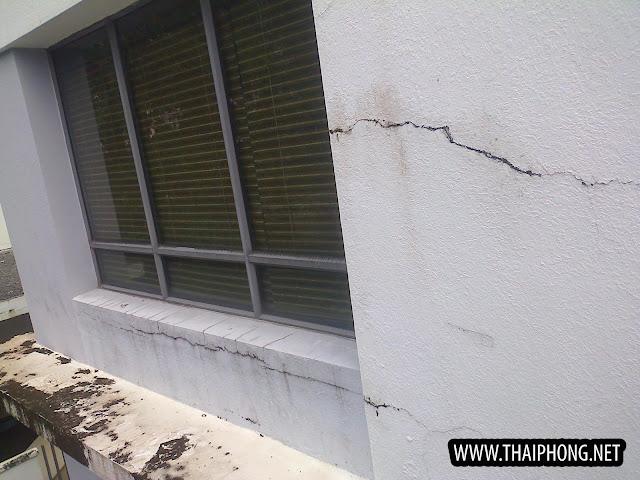 chống thấm do nứt tường