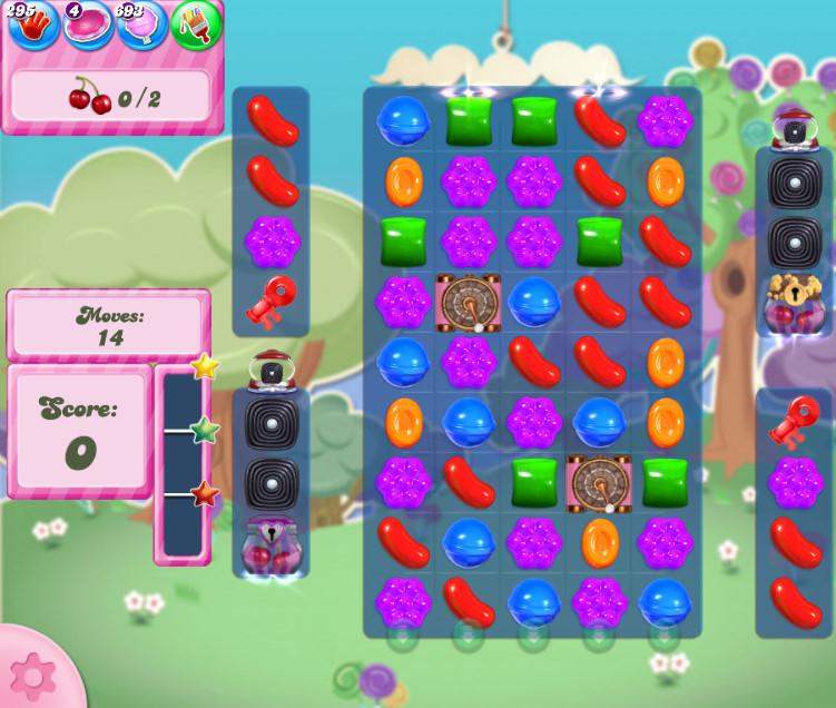 Candy Crush Saga level 2815