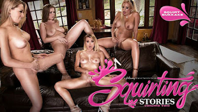 Zoey Monroe, Luna Star, Natalia Starr, Lena Paul (Squirting Stories Volume Two: Squirt Bukkake ) [GirlsWay]