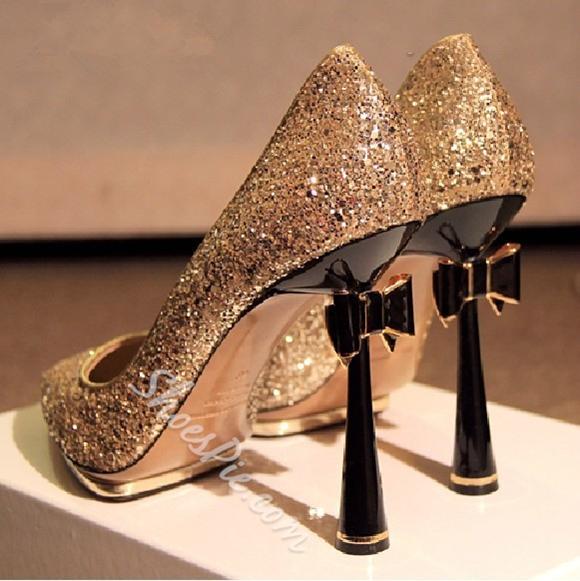 Shoespie-Sapato-dourado-de-salto