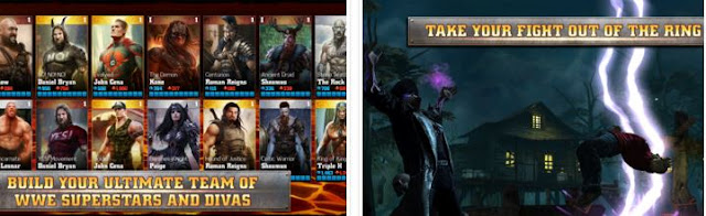 WWE Immortals v2.0.1 MOD APK+DATA