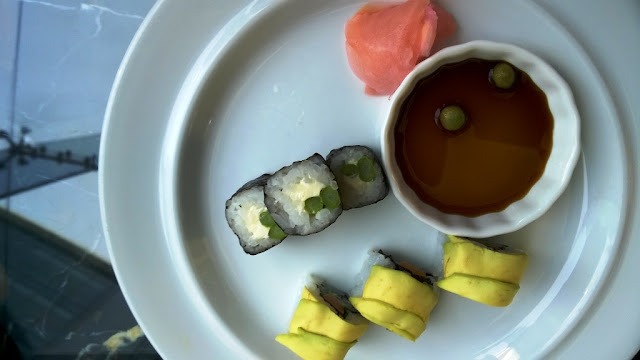 Glasshouse Hyatt Regency Sunday Brunch Vegetarian Vegan Health Nutrition Gourmet Masterchef Sushi