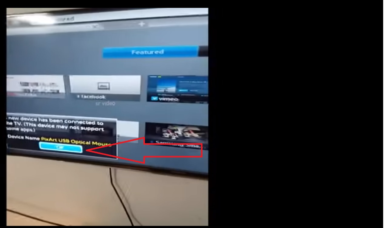 How to connect mouse to Samsung 3D LED Smart TV - VERY EASILY | How ...
