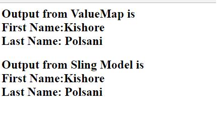 Sling Models in AEM