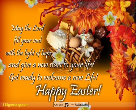 Happy Easter 2017 Wishes for friends