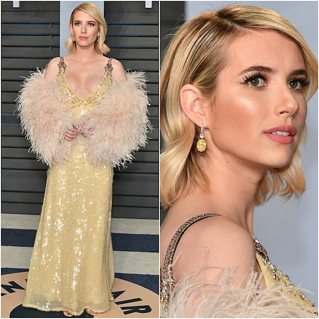 looks festa pos oscar 2018 vanity fair after party oscar