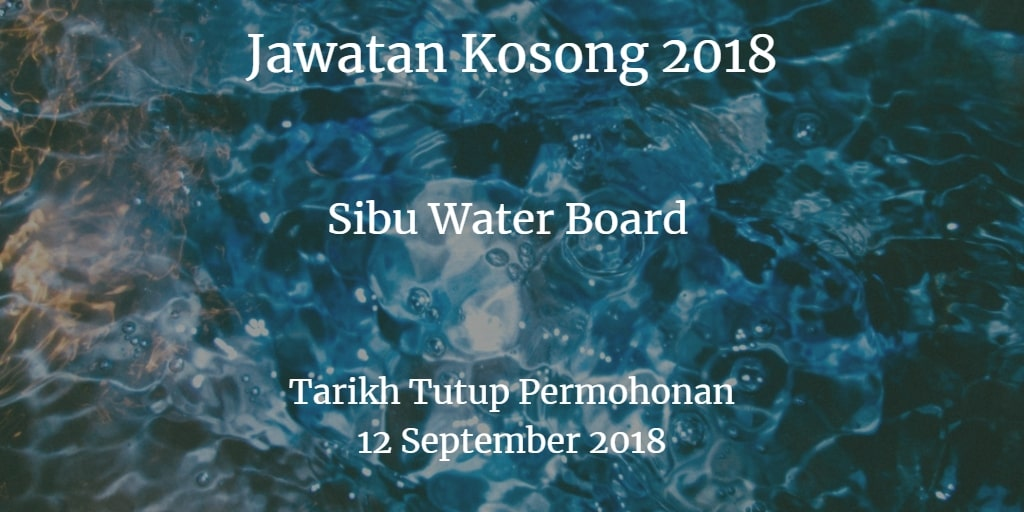 Jawatan Kosong SWB 12 September 2018