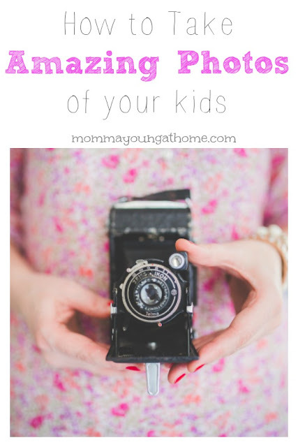 How to take professional photos of kids