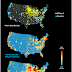 Distribution of ethanol and electric fuel stations in the United States