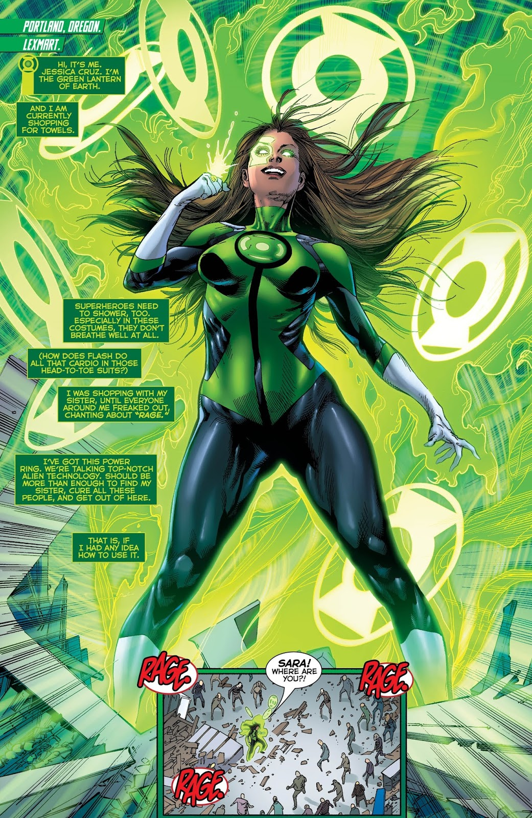 Share sexy female superhero green lantern