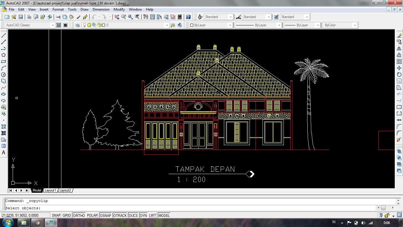 Desain Rumah Minimalis Dwg Wwwgambaranimasitop