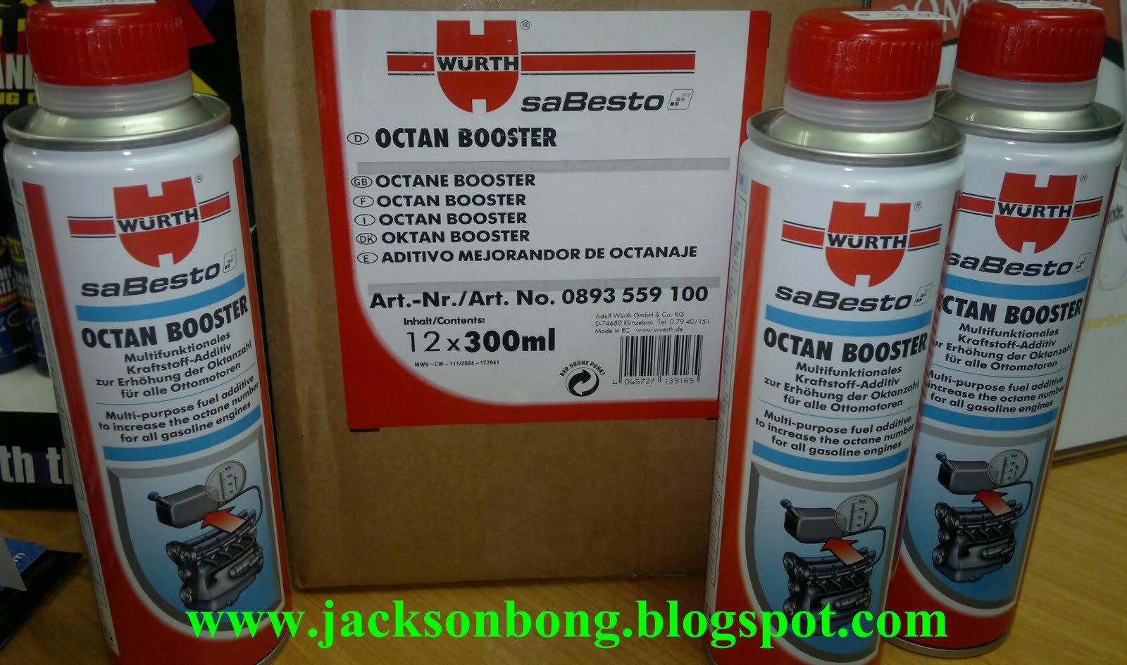Pro-ride Motorsports: Wurth Octane Booster (Increase 2-5