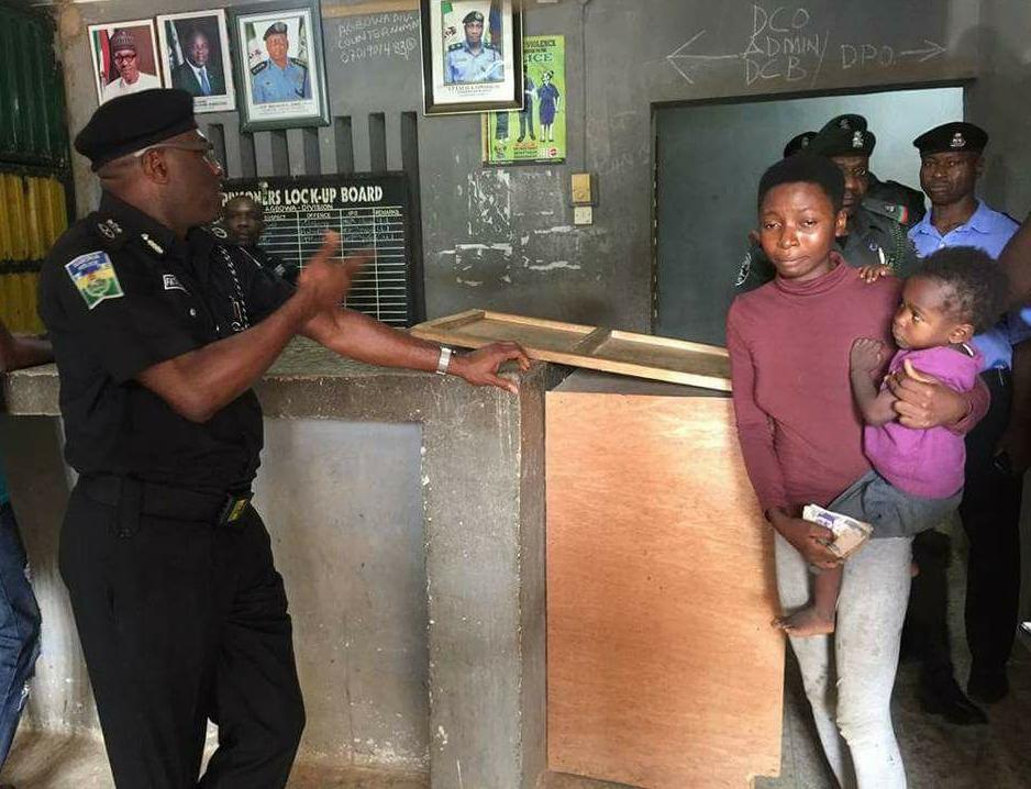 fatai owoseni frees nursing mother arrested stealing plantain