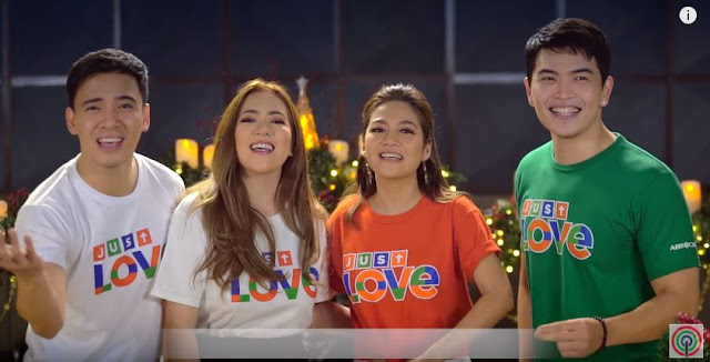 ChardGel Gave Their Fans The Kilig Vibes During The Shoot of ABS-CBN's 'Just Love' Christmas Station ID!