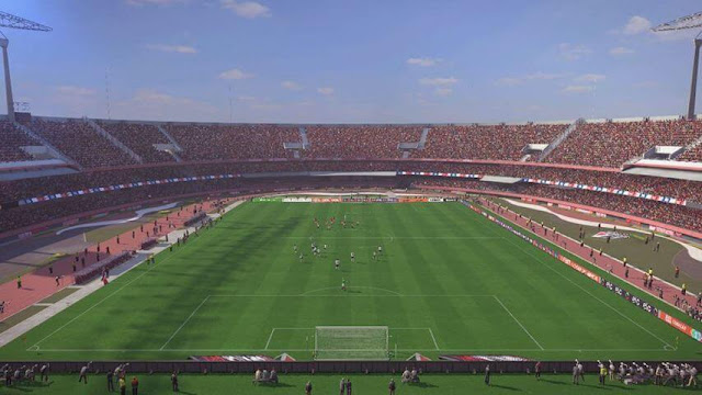 Upgrade Estadio do Morumbi PES 2017