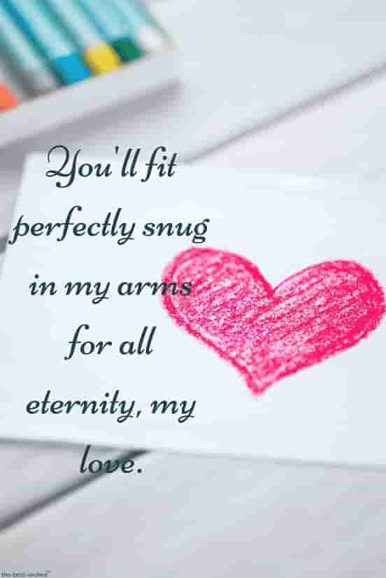 eternity quotes for my love