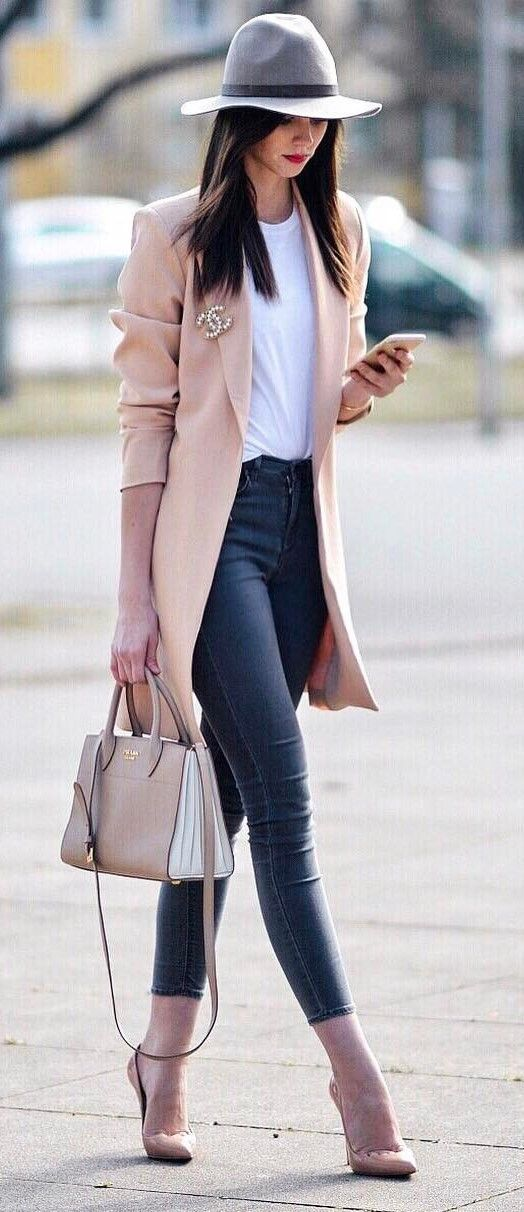 trench coat outfit ideas  beauty with lily