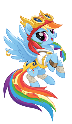 MLP Movie Vector Pirate Rainbow Dash