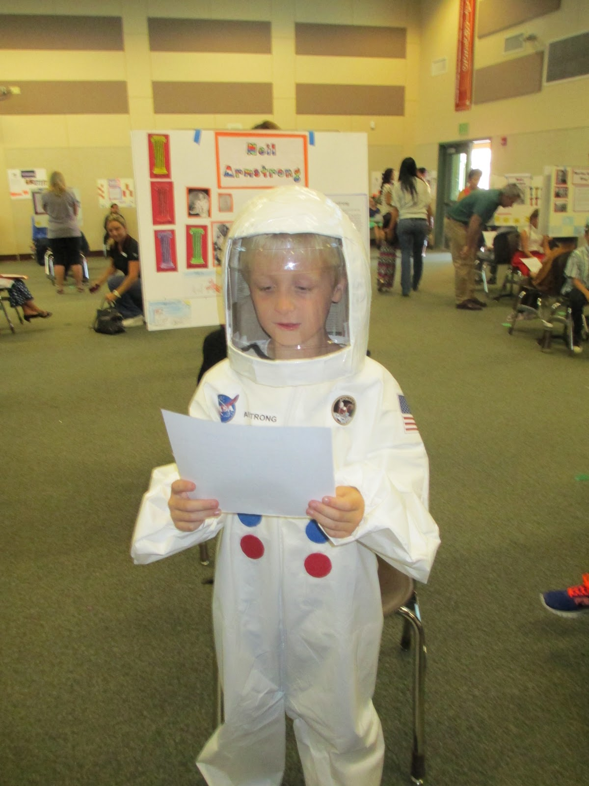 Neil Armstrong Costume. | Well begun is half-done