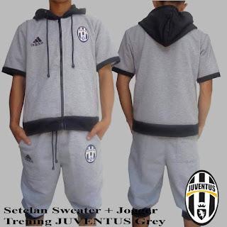 Jaket Setelan Joger Juventus